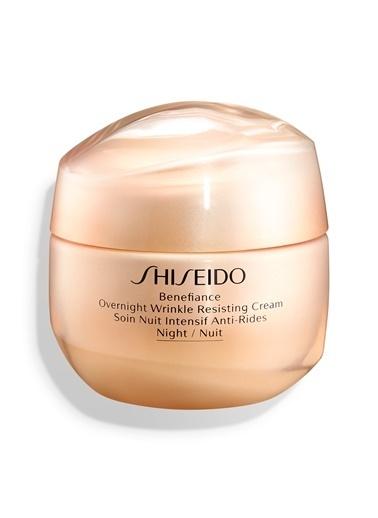 Shiseido Shiseido Benefiance Overnight Wrinkle Resisting Kırışıklık Karşıtı Nemlendirici 50 ml Renksiz